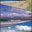 Hebridean Beaches Collage by EasterDaffodil