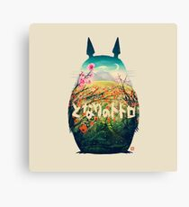 Hamster Lord Canvas Print