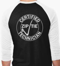 Drifter - Certified zip tie technician Men's Baseball ¾ T-Shirt