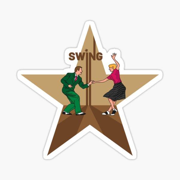 Swing Pegatina