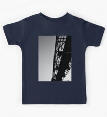 Sky Bridge BW Kids Tee