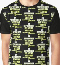 Yellow - Pain Graphic T-Shirt