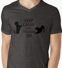 Keep Calm And Train On T-Shirt