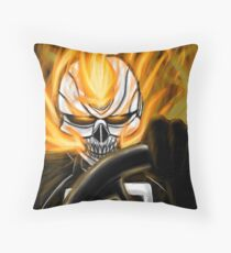 All-New Ghost Rider Throw Pillow