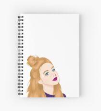 Updo Sabrina Spiral Notebook