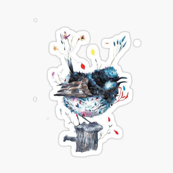 The wonder of the naura Sticker