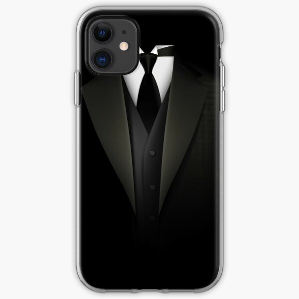 Men's Tuxedo Suit   iPhone Soft Case