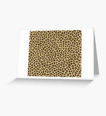 Babou, Serpentine! Leopard Print Greeting Card