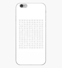 Word Search of My Favorite Shows iPhone Case