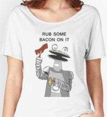 Bacon Bot GMM Women's Relaxed Fit T-Shirt