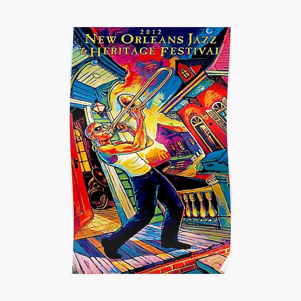 New Jazz Orleans music Poster