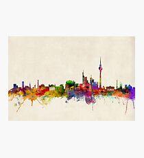Berlin Skyline Germany Photographic Print