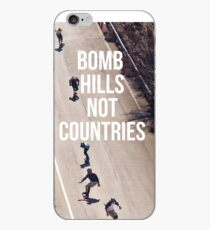 Vinilo o funda para iPhone Bomb Hills Not Countries