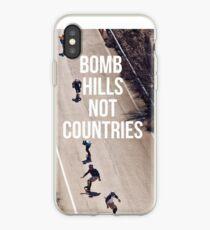 Bombe Hügel nicht Länder iPhone-Hülle & Cover
