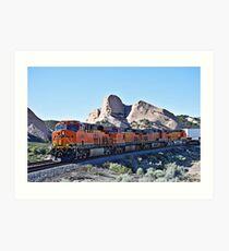 BNSF # 7955 at Cajon Pass Art Print
