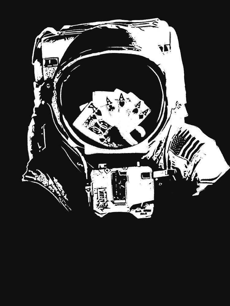 Poker Astronaut by fullrangepoker
