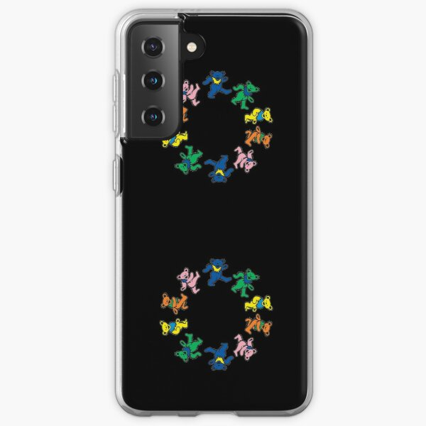 Colorful Dancing bears Grateful day Samsung Galaxy Soft Case