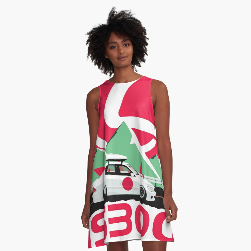 IS300 A-Line Dress Front