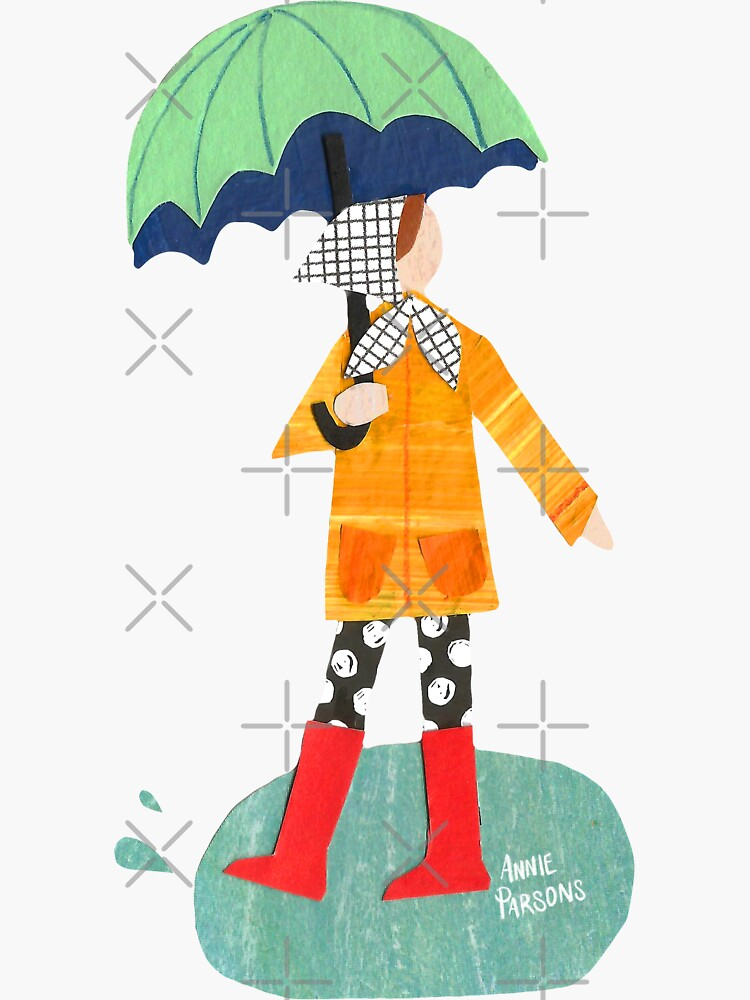 Rainy Day Collage by annieparsons