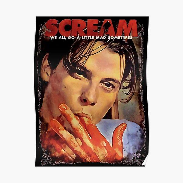 Scream Movie b-illy Loomis Skeet Ulrich Poster
