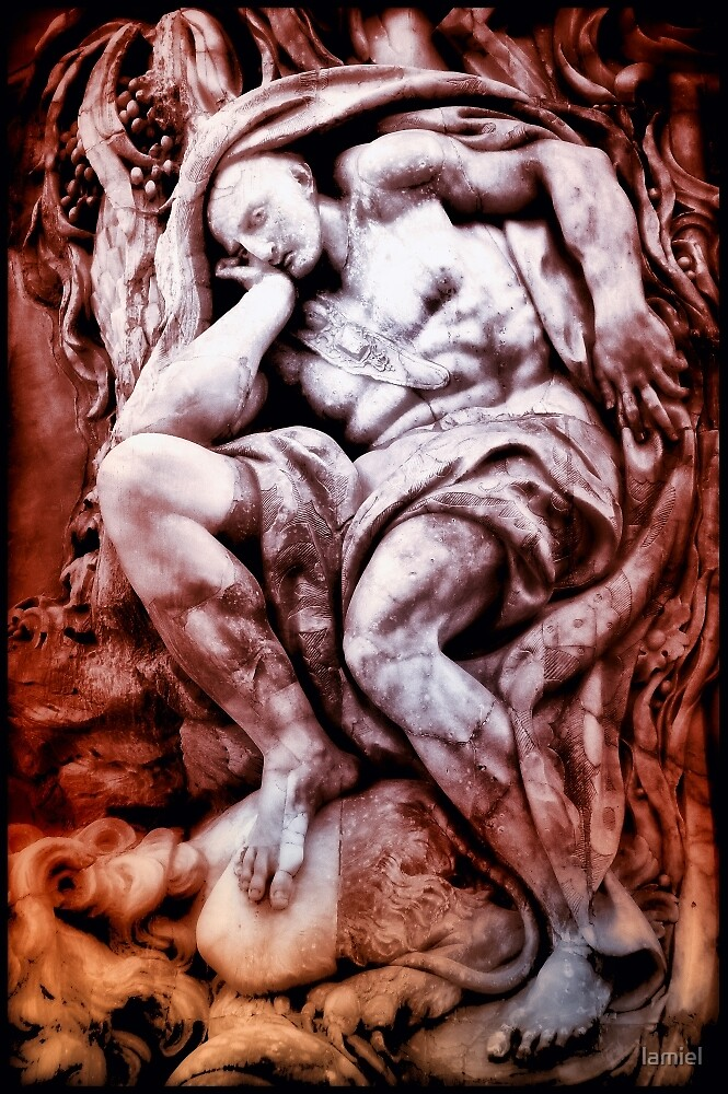 The Thinker by lamiel