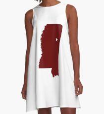 Starkville Mississippi A-Line Dress