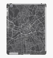 Manchester Map, England - Gray iPad Case/Skin