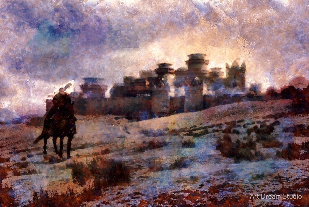 Jon Snow Of Winterfell by Art Dream Studio