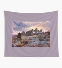 Jon Snow Of Winterfell Wall Tapestry