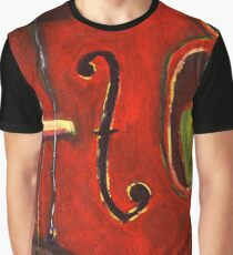 Viola Painting Graphic T-Shirt