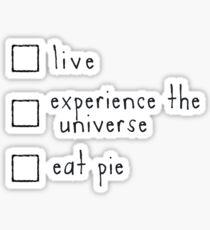 Checklist Sticker