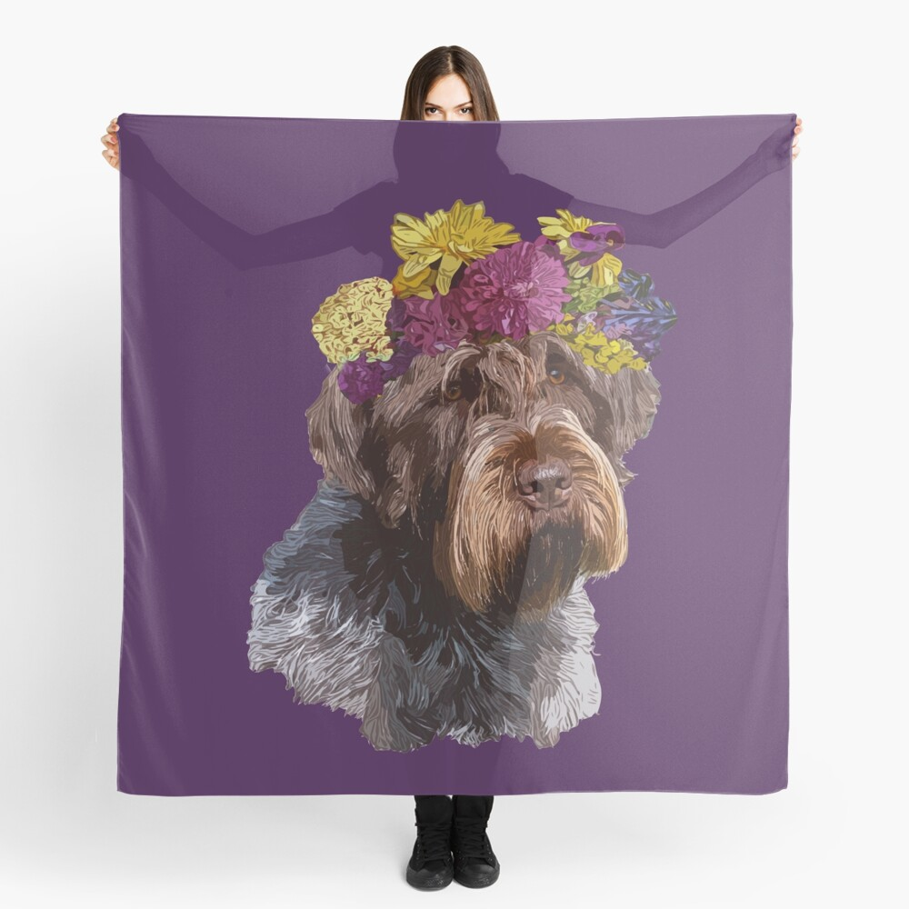 MISS BANNER AT WESTMINSTER Scarf