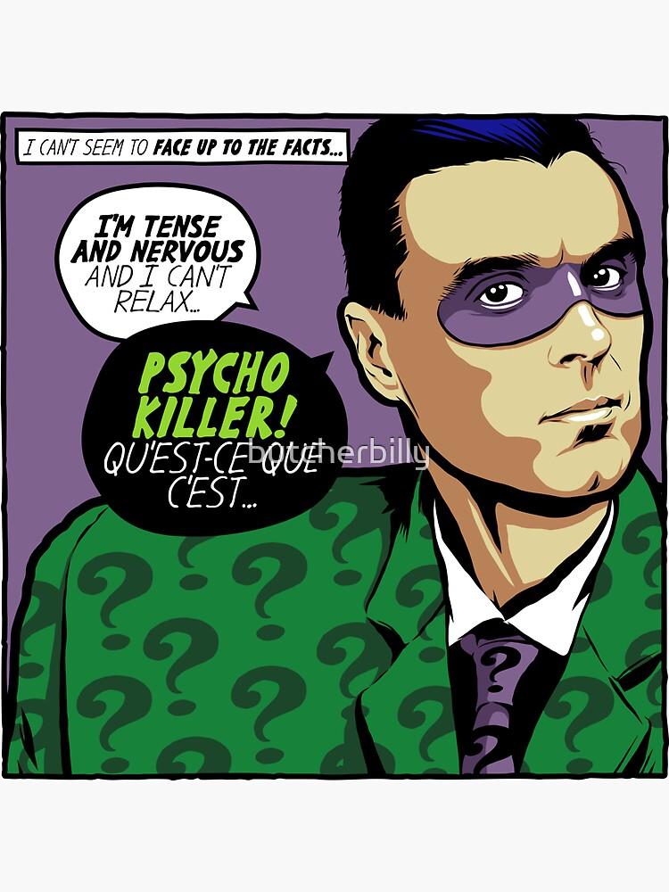 Post-Punk Psycho by butcherbilly