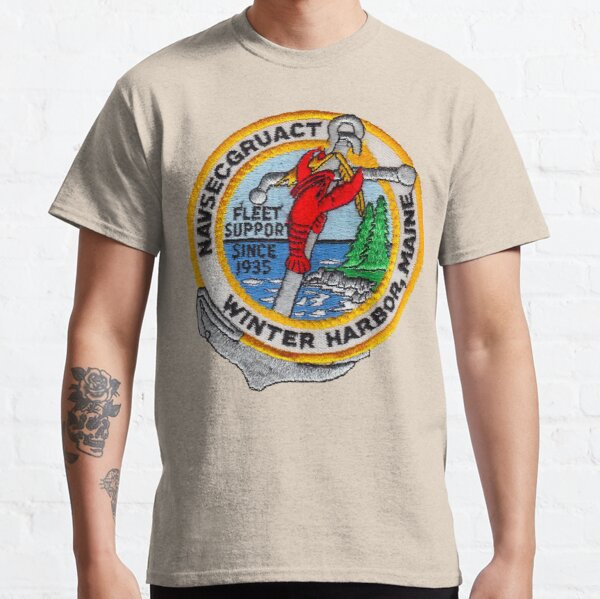 NAVAL SECURITY GROUP ACTIVITY, WINTER HARBOR, MAINE Classic T-Shirt