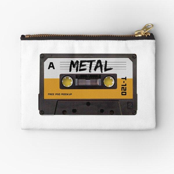CASSETTE TAPE - Metal Music Cassette Zipper Pouch