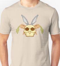 Old Rabbit Skull Unisex T-Shirt