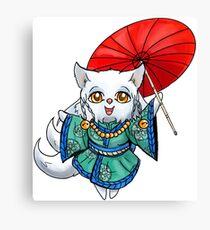 Chibi Kitsune Canvas Print