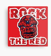 Rock the Red! Literally! Metal Print