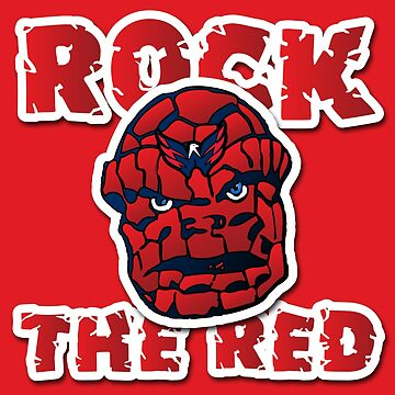 Rock the Red! Literally! by oslo