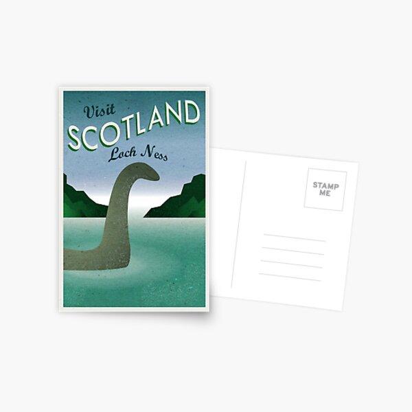 Visit Loch Ness Postcard