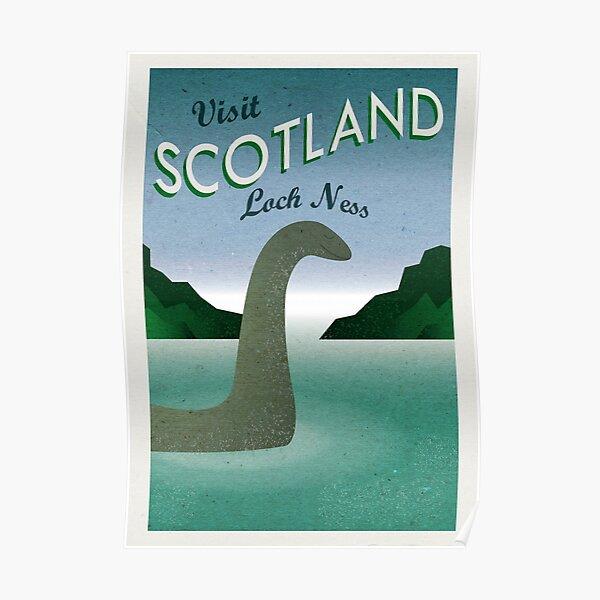 Visit Loch Ness Poster