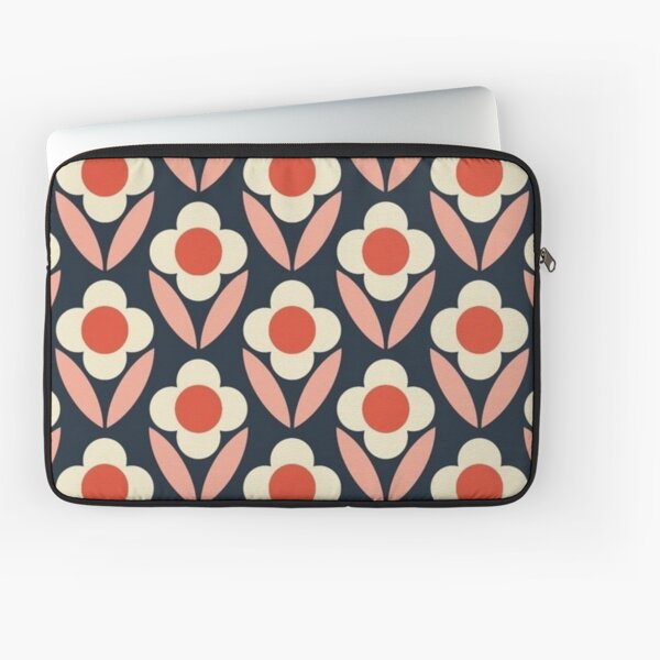 abstract flowers design  Laptop Sleeve