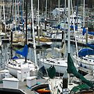 Yacht Harbor on Sunday morning by David Chesluk