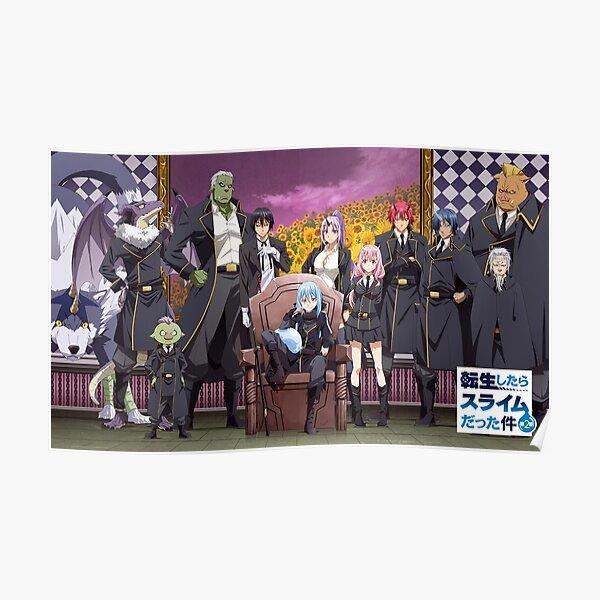 Rimuru And Friends Poster Poster