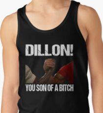 Schwarzenegger Dillon Predator Arm Wrestle  Tank Top