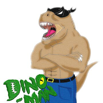 Dino Man by wumbobot
