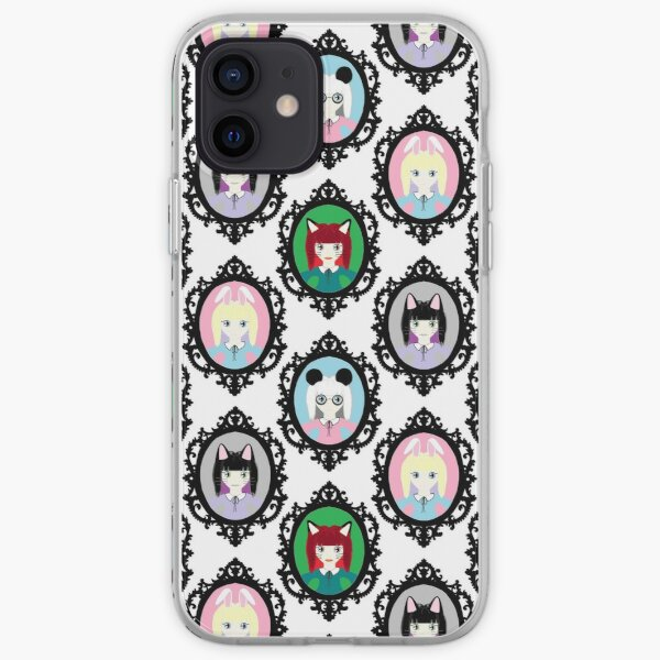 Kawaii Cosplay Girl - Bunny, Fox, Panda & Cat iPhone Soft Case