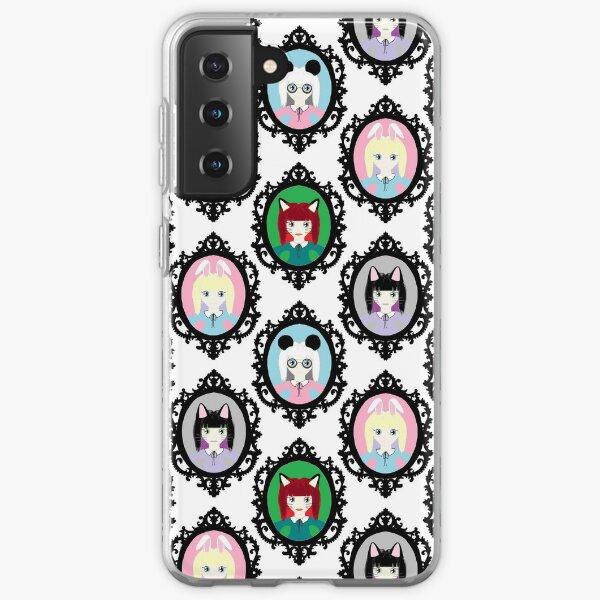 Kawaii Cosplay Girl - Bunny, Fox, Panda & Cat Samsung Galaxy Soft Case