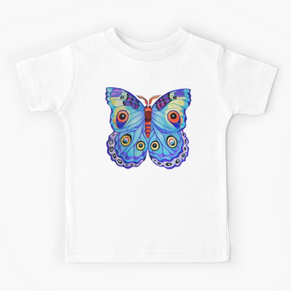 """""""Just a Butterfly!"""" Kids T-Shirt"""