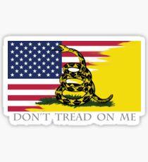 American Gadsden Sticker